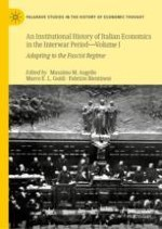Italian Economics and Fascism: An Institutional View