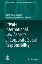 Questions de droit international privé de la responsabilité sociétale des entreprises : Rapport général