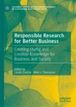 The Call for Responsible Research in Business and Management