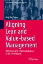 Introducing the Study of Lean and Value-Based Management