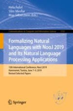 Recognition of Arabic Phonological Changes by Local Grammars in NooJ