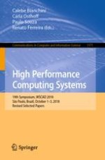 An Interference-Aware Strategy for Co-locating High Performance Computing Applications in Clouds