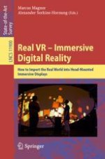 Capture, Reconstruction, and Representation of the Visual Real World for Virtual Reality