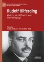 Introduction: Critically Returning to Rudolf Hilferding