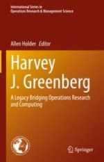 A Commemorative Review of Harvey Greenberg's Career