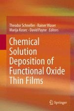 Simple Alkoxide Based Precursor Systems