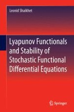 Short Introduction to Stability Theory of Deterministic Functional Differential Equations