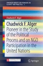 Biographical Note of Chadwick F. Alger: Introduction to the Selected Texts