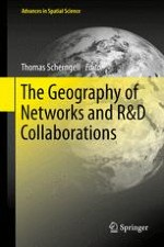 The Networked Nature of R&D in a Spatial Context