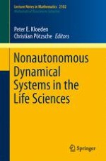Nonautonomous Dynamical Systems in the Life Sciences