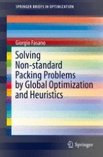 Non-standard Packing Problems: A Modelling-Based Approach