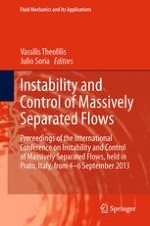 Prologue to the International Conference on Massively Separated Flows and Their Control