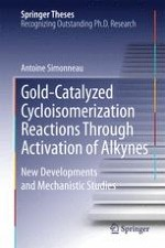 Gold- and Platinum-Catalyzed Reactions of Enynes