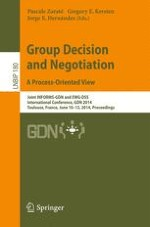 Cooperative Decision Making: A Methodology Based on Collective Preferences Aggregation