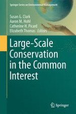 A Problem-Oriented View of Large-Scale Conservation