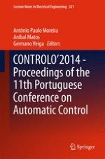 CONTROLO'2014 – Proceedings of the 11th Portuguese Conference on Automatic Control