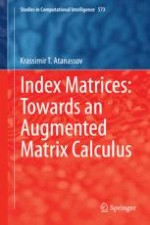 Index Matrices: Definitions, Operations, Relations