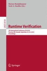 First International Competition on Software for Runtime Verification