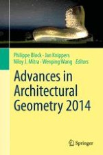 Simulation of Aggregate Structures in Architecture: Distinct-Element Modeling of Synthetic Non-convex Granulates