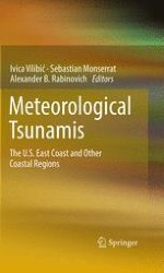 Meteorological tsunamis on the US East Coast and in other regions of the World Ocean