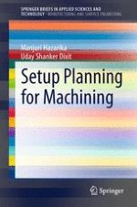 Process Planning in Machining