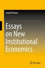 The New Institutional Economics: Its Start, Its Meaning, Its Prospects