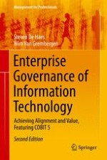 Enterprise Governance of IT, Alignment and Value