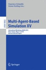 Event-Driven Multi-agent Simulation