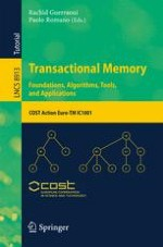 Consistency for Transactional Memory Computing