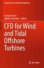 Flow Scales in Cross-Flow Turbines