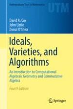 Geometry, Algebra, and Algorithms
