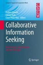 Collaborative Information Seeking: From 'What?' and 'Why?' to 'How?' and 'So What?'