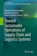 Toward Sustainable Operations of Supply Chain and Logistics