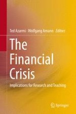 Introduction: Finance and the Financial Crisis