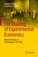 A Witness Seminar on the Emergency of Experimental Economics