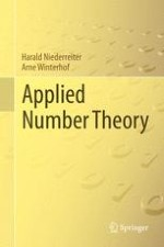 A Review of Number Theory and Algebra