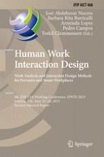 Human Work Interaction Design: An Overview