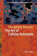 Self-Organizing Two-Dimensional Cellular Automata: 10 Still Frames