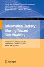 Looking for Creative Information Strategies and Ecological Literacy