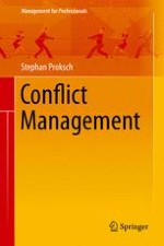 Recognising and Resolving Conflicts