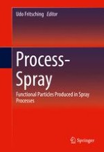 Investigation of Elementary Processes of Non-Newtonian Droplets Inside Spray Processes by Means of Direct Numerical Simulation