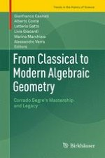Segre's University Courses and the Blossoming of the Italian School of Algebraic Geometry