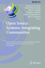 The Role of Local Open Source Communities in the Development of Open Source Projects