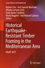 Cooperating Timber and Stone Antiseismic Frames in Historic Structures of Greece