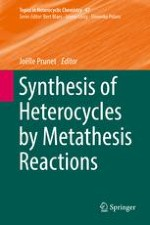 Synthesis of Heteroaromatic Compounds by Alkene and Enyne Metathesis