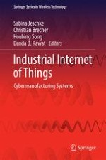 Industrial Internet of Things and Cyber Manufacturing Systems