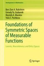 Definition of Symmetric Spaces