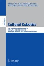 Cultural Robotics: Robots as Participants and Creators of Culture