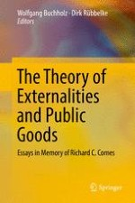 The Theory of Externalities and Public Goods: The Lifework of Richard Cornes