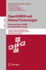 Integrating Asynchronous Task Parallelism with OpenSHMEM